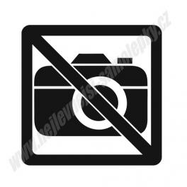 Samolepka Zákaz fotografování (no photo)
