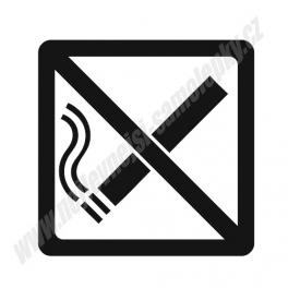 Samolepka Zákaz kouření
