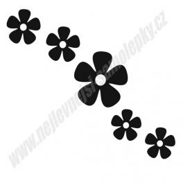 Samolepky  Květiny (sada)