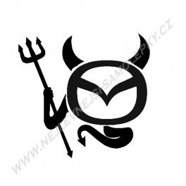 Samolepka Mazda Devil