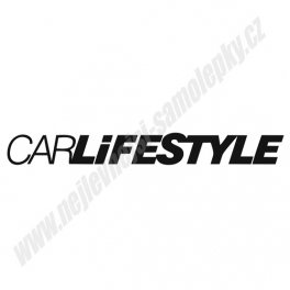 Samolepka CARLifeStyle