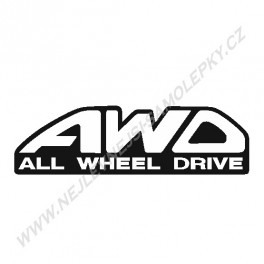 Samolepka AWD