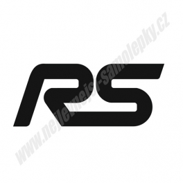 Samolepka RS