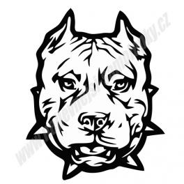 Samolepka Pit bull