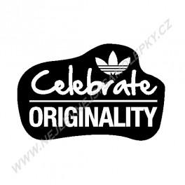 Samolepka Adidas Celebrate !