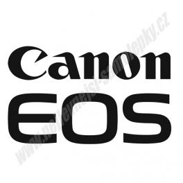 Samolepka Canon EOS