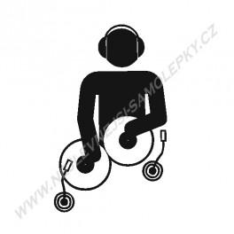 Samolepka DJ