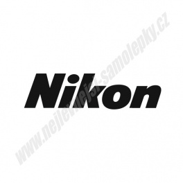Samolepka Nikon