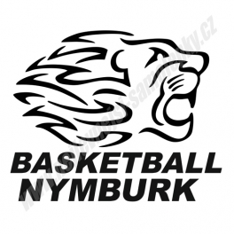 Samolepka Basketball Nymburk