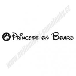 Samolepka Princess on Board