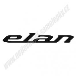 Samolepka Elan