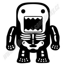 Samolepka JDM DOMO Skull