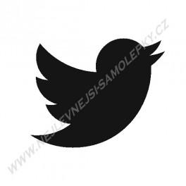 Samolepka Twitter