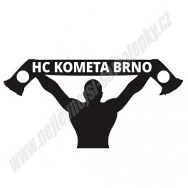 Samolepka HC Kometa Brno