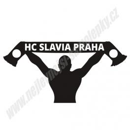 Samolepka HC Slavia Praha