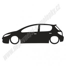 Samolepka Peugeot 307 Low