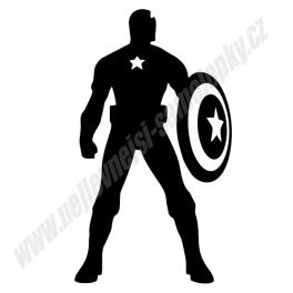Samolepka Kapitán Amerika