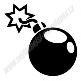 Samolepka Bomba