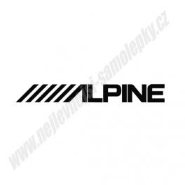 Samolepka Alpine