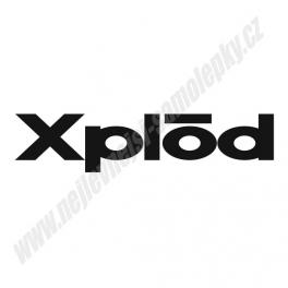 Samolepka Xplod