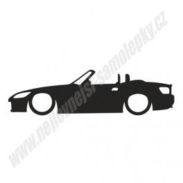 Samolepka Honda S2000 Low