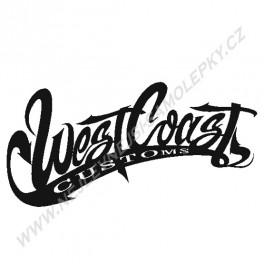 Samolepka West Coast Customs