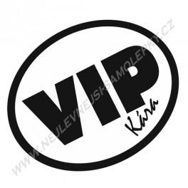 Samolepka VIP kára