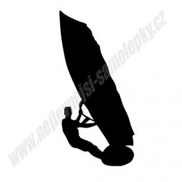 Samolepka Windsurfing