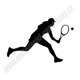 Samolepka Tenistka