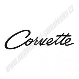 Samolepka Corvette