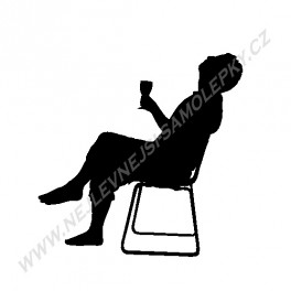 Samolepka Alkoholik