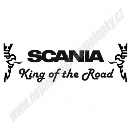 Samolepka Scania - King of the Road