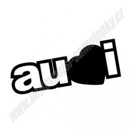 Samolepka Audi Love