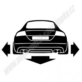 Samolepka Audi TT II