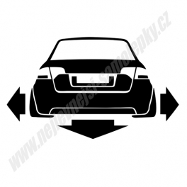 Samolepka Audi A4 B7