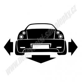 Samolepka Fiat Coupe