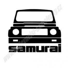 Samolepka Suzuki Samurai
