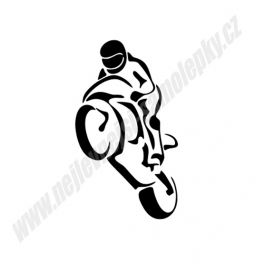 Samolepka Motorkář - Kaskadér