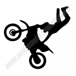 Samolepka Moto freestyle