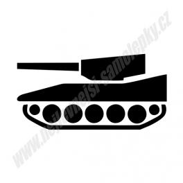 Samolepka Tank