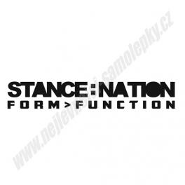 Samolepka Stance Nation