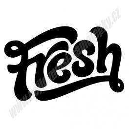 Samolepka Fresh