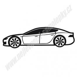 Samolepka Tesla model S