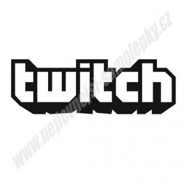 Samolepka Twitch