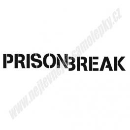 Samolepka Prison Break