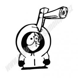 Samolepka South Park - Kenny