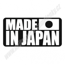 Samolepka Made in Japan