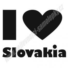 Samolepka I Slovakia