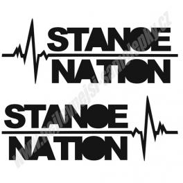 Samolepka StanceNation ekg