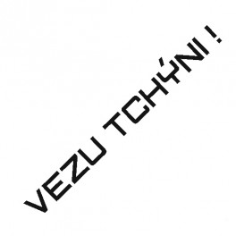 Samolepka Vezu Tchýni